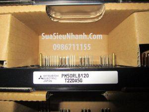 Tên hàng: PM50RLB120 IGBT 50A 1200V;  Hãng sx: MITSUBISHI;  Mã hàng: PM50RLB120;  Dùng cho: vật tư servo driver, vật tư biến tần