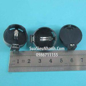 Tên hàng: Để pin CR2032-CR2025;  Mã: SOC-CR2032