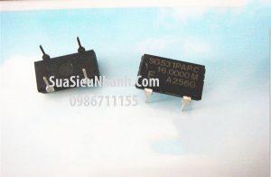 Tên hàng: Thạch anh 16MHZ 4 chân cắm SG-531P;  Mã hàng: TA_SG-531P_16.000MHZ;  Dùng cho: Vật tư Servo driver, Vật tư biến tần
