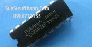 Tên hàng: TDIP16 IC Darlington Driver 0.5A 50V;  Mã: TD62003AP;  Kiểu chân: cắm DIP-16;  Hãng sx: TOSHIBA;