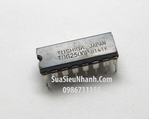 Tên hàng: TD62506P IC 7 SINGLE DRIVER; Kiểu chân: cắm DIP-16; Hãng sx: TOSHIBA