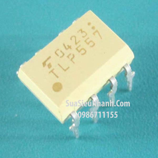 Tên hàng: TLP557 DIP8 Photo-Tran Optocoupler Logic-Out Push-Pull; Mã: TLP557; Kiểu chân: cắm DIP-8; Hãng sx: Toshiba; Dùng cho: vật tư biến tần, vật tư servo