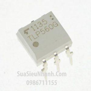 Tên hàng: TLP560 TLP560G Photo-triac;  kiểu chân: cắm DIP-5;  hãng sx: Toshiba;  Dùng cho: Vật tư biến tần, vật tư servo driver;