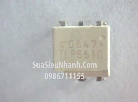 Tên hàng: TLP561G Photo-TRIAC 400V; Kiểu chân: cắm DIP-6; Hãng sx: TOSHIBA; Mã hàng : TLP561G