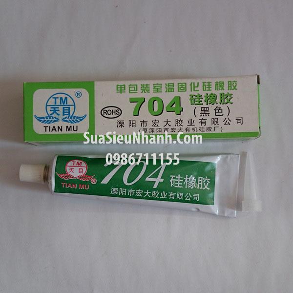 Tên hàng: Keo Silicone 704 đen bảo vệ mạch; Mã: TM-704B; Dùng cho: máy giặt, điều hòa, bếp từ, tủ lạnh, biến tần, servo driver; Tag: Keo phủ mạch, keo bảo vệ mạch máy giặt, keo chống ẩm mạch, keo chống ẩm mạch máy giặt, keo chống
