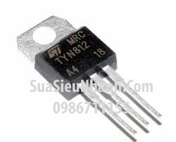 Tên hàng :TYN812 TO220 SCR Thyristor 12A 800V; Mã: TYN812; Kiểu chân: cắm TO-220; Hãng sx: ST; Hàng tương đương: TN1215, TYN612, TYN812, TYN1012