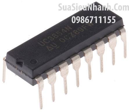 Tên hàng: UC3854N IC Nguồn Switching; Kiểu chân: cắm DIP-16
