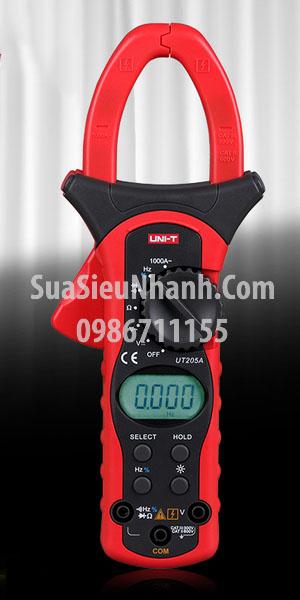 Tên hàng: AMPE Kìm UNI-T UT204A (Có thêm đo tụ, tần số, nhiệt độ); Hãng sx: UNI-T; Mã hàng: UT204A; Dùng cho: Vật tư điều hòa, vật tư tủ lạnh, vật tư bếp tử, vật tư lò vi sóng, vật tư công cụ-Tools