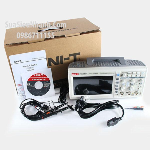 Tên hàng: Máy hiện sóng Oscilloscope 100MHz 1GHz UNI-T UTD2102CEX; Mã: UTD2102CEX; Dùng cho: Tools-Vật tư công cụ
