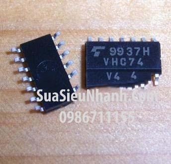 Tên hàng: VHC74 TC74VHC74F IC Logic; Kiểu chân: dán SOP-14 5.2mm; Mã hàng : TC74VHC74F