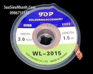 Tên hàng: WL-2015 Dây hút thiếc 2.0mm 1.5m