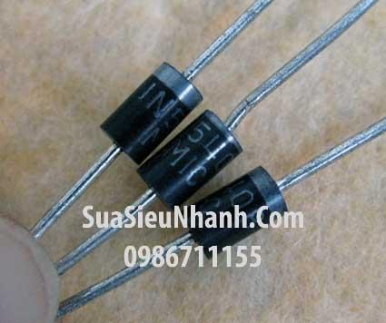 Tên hàng: 1N5408 Diode 3A 1000V; Mã: 1N5408; Kiểu chân: cắm; Phân nhóm: Diode chỉnh lưu; Hàng tương đương: IN5408