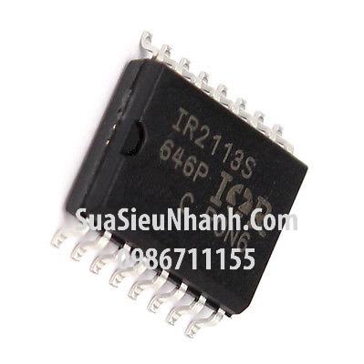 Tên hàng: IR2113S IC DRIVER; Mã: IR2113S; Kiểu chân: dán SOP-16; Hãng sx: IR;