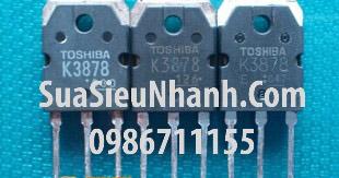 Tên hàng: 2SK3878 K3878 TO3P NPN MOSFET 9A 900V (TM); Mã: 2SK3878_OLD; Kiểu chân: cắm TO-3P