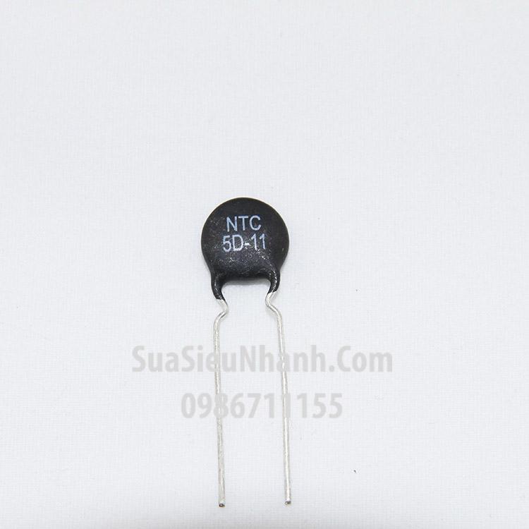 Tên hàng: NTC 5D-11 Trở nhiệt NTC 5R 11mm; Mã: NTC5D-11