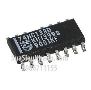 Tên hàng: 74HC138D 74HC138 SOP16 IC số DECODER/DEMUX 3-8 LINE;  Mã: 74HC138D;  Kiểu chân: dán SOP-16;  Thương hiệu: NXP;  Phân nhóm: IC Số>DECODER/DEMUX