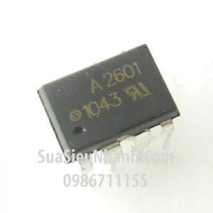 Tên hàng: A2601 HCPL2601 HCPL-2601 Photo-transistor optocoupler;  Mã: A2601_SOP-8;  Kiểu chân: dán SOP-8;