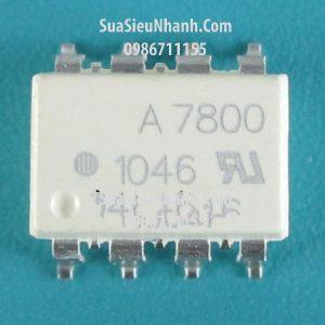 Tên hàng: A7800, HCPL-7800 SOP8 Photocoupler opto cách ly quang;  Kiểu chân: dán SOP-8;  Tag: A7800, A7800A, HCPL-7800; HCPL7800 SOP8 Photocoupler opto cách ly quang