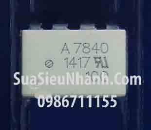 Tên hàng: A7840, HCPL-7840, HP7840 Photocoupler opto cách ly quang; Kiểu chân: dán SOP-8;