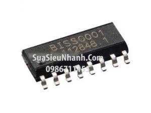 Tên hàng: BISS0001 SOP16 IC Khuếch đại cảm biến chuyển động PIR;  Mã: BISS0001;  Kiểu chân: dán SOP-16;  Phân nhóm: IC chức năng;