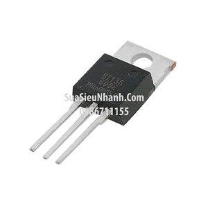 Tên hàng: BT136-600E BT136 TO220 TRIAC 4A 600V;  Mã: BT136-600E;  Kiểu chân: cắm TO-220;  Thương hiệu: NXP;  Phân nhóm: TRIAC