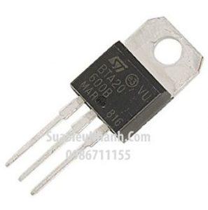 Tên hàng: BTA20-600B BTA20 TO220 TRIAC 20A 600V;  Mã: BTA20-600B;  Kiểu chân: cắm TO-220;  Thương hiệu: NXP;  Hàng tương đương: BTA20-600A, BTA20-600B, BTA20-600C;  Phân nhóm: TRIAC
