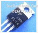 Tên hàng: BU406 TO220 N Transistor 7A 400V BCE; Mã: BU406_F; Hãng sx: Faichild; Kiểu chân: cắm TO-220; Hàng tương đương: BU407;