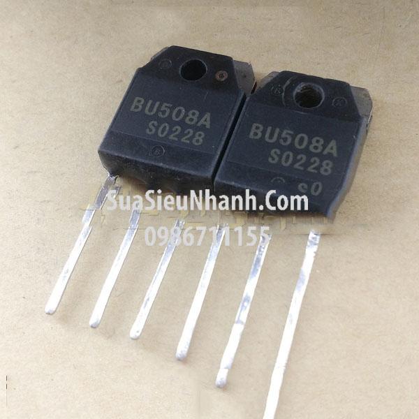 Tên hàng: BU508A TO-3P N Transistor 8A 700V BCE (TM); Mã: BU508A_OLD; Kiểu chân: Cắm TO-3P; TO-247;