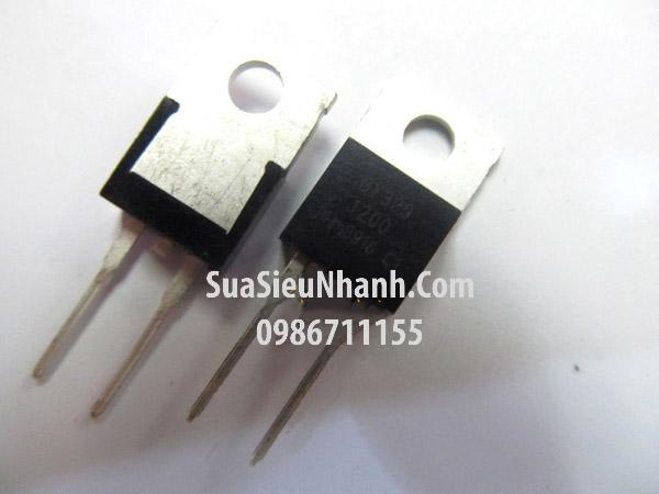 Tên hàng: BY329-1200 TO-220-2 Diode 8A 1200V; Mã: BY329-1200; Kiểu chân: cắm TO-220-2; Hàng tương đương: BY329X-1500S BY329-800 BY329-1000 BY329