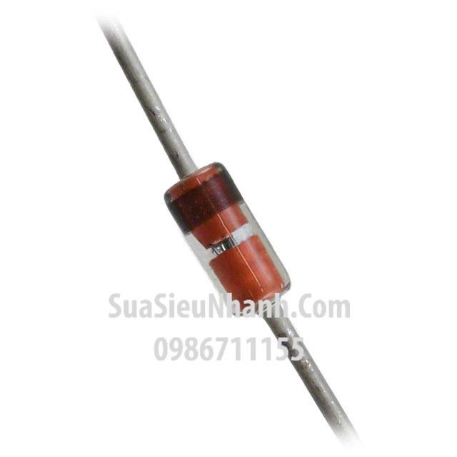 Tên hàng: BZX55C18V Zener 18V 0.5W; Mã: BZX55C18V