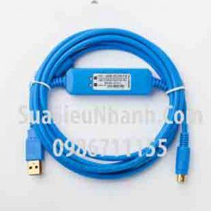 Tên hàng: Cáp lập trình USB-SC09+ cho PLC Mitsubishi FX A;  Mã: USB-SC09+