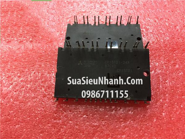 Tên hàng: CP15TD1-24A IGBT 15A 2400V (TM); Mã: CP15TD1-24A_OLD; Hãng sx: Mitsubishi; Dùng cho: vật tư biến tần, vật tư servo, vật tư máy may