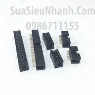 Tên hàng: DC3-14P IDE14P Box header 7x2p 2.54mm đực cong;  Mã: DC3-14P_R;  Hàng tương đương: IDE 14