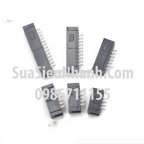 Tên hàng: DC3-8P IDE8P Box header 4x2p 2.54mm đực cong;  Mã: DC3-8P_R;  Hàng tương đương: IDE 8