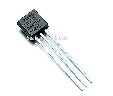 Tên hàng: DS18B20 TO92 IC cảm biến nhiệt độ Temp Sensor Digital Serial (1-Wire) 3-Pin; Mã: DS18B20; Kiểu chân: cắm TO-92; Thương hiệu: Dallas