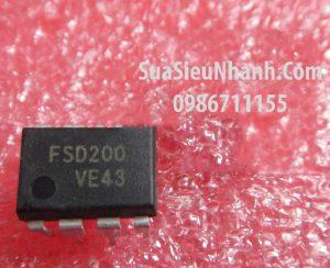 Tên hàng: FSD200 DIP8 IC nguồn Power switch ũ;  Mã: FSD200;  Hãng sx: Fairchild;  Kiểu chân: DIP-8;  Dùng cho: Vật tư bếp từ;Tên hàng: FSD200 DIP8 IC nguồn Power switch ũ;  Mã: FSD200;  Hãng sx: Fairchild;  Kiểu chân: DIP-8;  Dùng cho: Vật tư bếp từ;