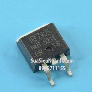 Tên hàng: IRF740LC IRF740S TO263 N MOSFET 10A 400V 0.48Ω;  Mã: IRF740S;  Kiểu chân: dán TO-263;  Thương hiệu: IR;  Phân nhóm: N MOSFETTên hàng: IRF740LC IRF740S TO263 N MOSFET 10A 400V 0.48Ω;  Mã: IRF740S;  Kiểu chân: dán TO-263;  Thương hiệu: IR;  Phân nhóm: N MOSFET