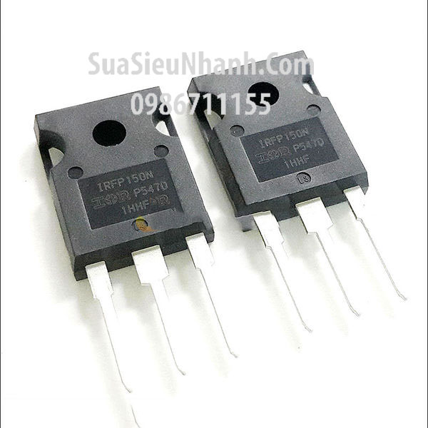 Tên hàng: IRFP150N TO-247 N MOSFET 42A 100V; Mã: IRFP150N; Kiểu chân: TO-247; Hãng sx: IR;