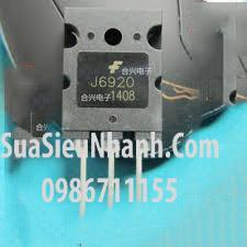 Tên hàng: J6920 NPN Transistor 20A 800V (TM);  Mã: J6920_OLD;  Kiểu chân: cắmTên hàng: J6920 NPN Transistor 20A 800V (TM);  Mã: J6920_OLD;  Kiểu chân: cắm