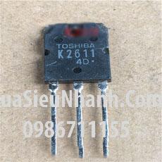 Tên hàng: K2611 2SK2611 N MOSFET 9A 900V (TM); Mã: 2SK2611_OLD; Kiểu chân: cắm TO-3P, TO-247; Hãng sx: TOSHIBA;