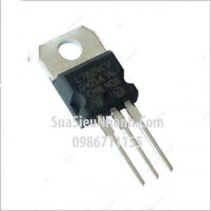 Tên hàng: L7824CV KA7824 LM7824 TO220 IC nguồn ổn áp 24V 1.5A;  Mã: L7824CV;  Kiểu chân: cắm TO-220;  Thương hiệu: ST;  Phân nhóm: IC nguồn