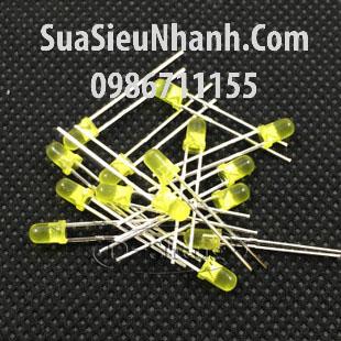 Tên hàng: LED vàng phi 3mm đơn indoor; Mã: LDP3Y-3V
