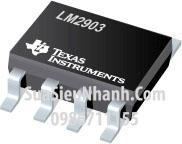 Tên hàng: LM2903DR LM2903DT LM2903DR2G LM2903 SOP8 IC thuật toán;  Mã: LM2903;  Kiểu chân: dán SOP-8;  Thương hiệu: TI;  Phân nhóm: IC thuật toán;