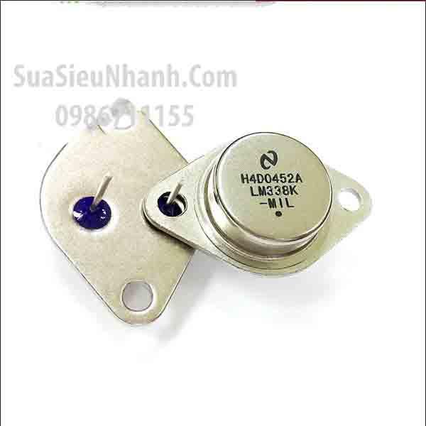 Tên hàng : LM338K TO-3 IC nguồn ADJ Voltage Regulator 5A; Mã: LM338K; Hãng sx: National; Kiểu chân: cắm TO-3;