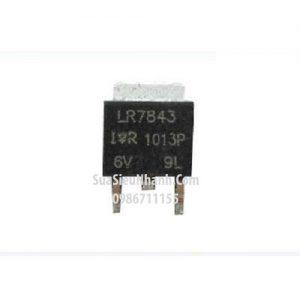 Tên hàng: IRLR7843 LR7843 TO252 N MOSFET 160A 30V;  Mã: LR7843;  Kiểu chân: dán TO-252;  Thương hiệu: IR;  Phân nhóm: N MOSFET