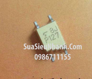 Tên hàng: P127 TLP127 Photo-transistor darlington; Mã: TLP127; Kiểu chân: dán SOP4; Hãng sx: TOSHIBA;