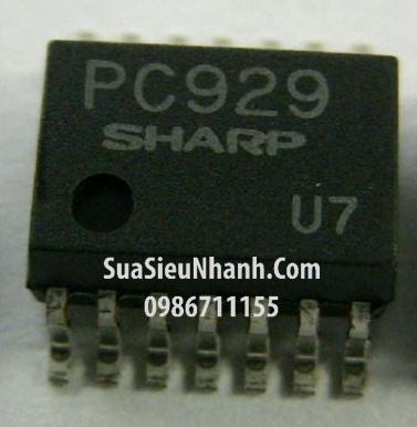 Tên hàng: PC929 SOP14 IC cách ly quang Photo optocoupler; Mã: PC929; Kiểu chân: dán SOP-14; Thương hiệu: SHARP; Dùng cho: vật tư biến tần, vật tư servo;