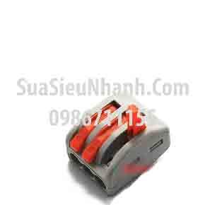 Tên hàng: PCT-213 Clip kẹp nối 3 dây 0.08 đến 2.5mm; Mã: PCT-213; Thông số: - Dài Rộng Cao L20.5xW17xH14.5mm; Điện áp chịu: 400V; Dòng: 32A; Kẹp dây: 0.08 đến 2.5mm