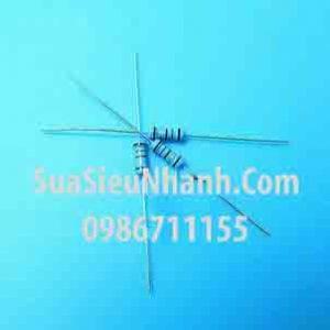 Tên hàng: Điện trở 0.82R 1W (0R82 1W) sai số 1%;  Mã: RES-0.82R1W