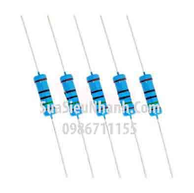 Tên hàng: Điện trở 100R 0.25W (100R 1/4W); Mã: RES-100R0.25W